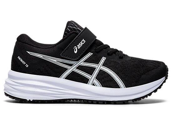 ASICS Kid's Patriot 12 Ps Shoes - Black K12 US