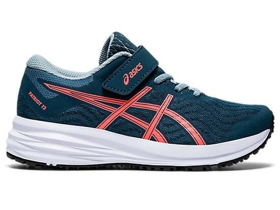 ASICS Kid's Patriot 12 Ps Shoes - Blue 3 US