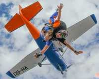 Get your heart racing with a 9,000ft tandem skydive over South Australias picturesque Lake...