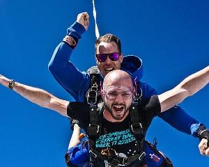 Get your heart racing with a 15,000ft tandem skydive over South Australias picturesque coast at Basham...