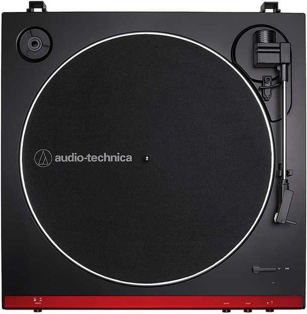 Two speeds: 33-1/3, 45 RPM Anti-resonance, die-cast aluminium platter Redesigned tonearm base &...