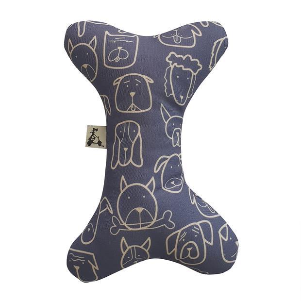 la doggie vita toy bone indigo  each | La Doggie Vita dog toy&accessories; | pet supplies| Product...