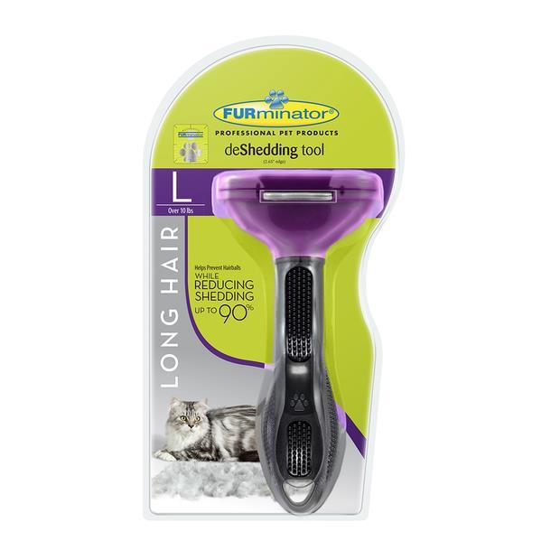 furminator long hair large cat  large | Furminator cat | pet supplies| Product Information:...