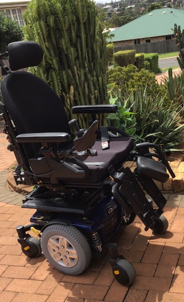 This power chair was obtained in 2019 and is as new. It was used only a handful of times and is now no...