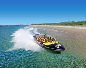 The Jetboat Express Ride is the perfect option for people with time or budget constraints.
