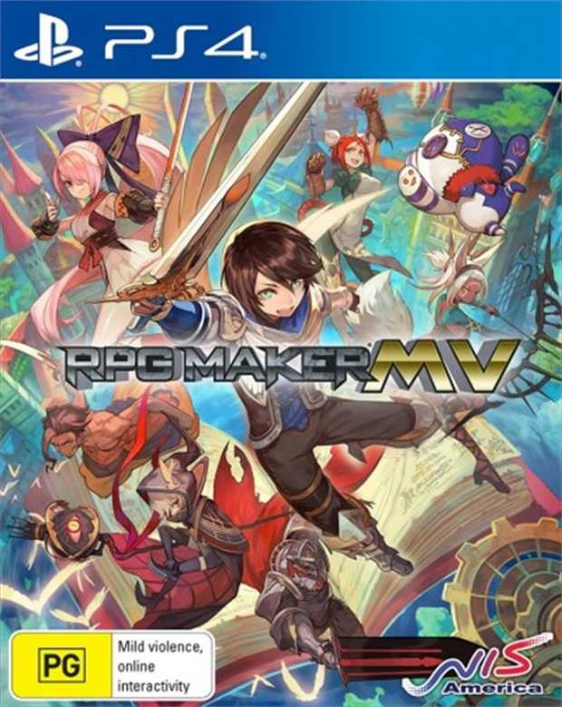 RPG Maker MV  RPG Maker was born to fulfill the desire of creating an original RPG without programming...