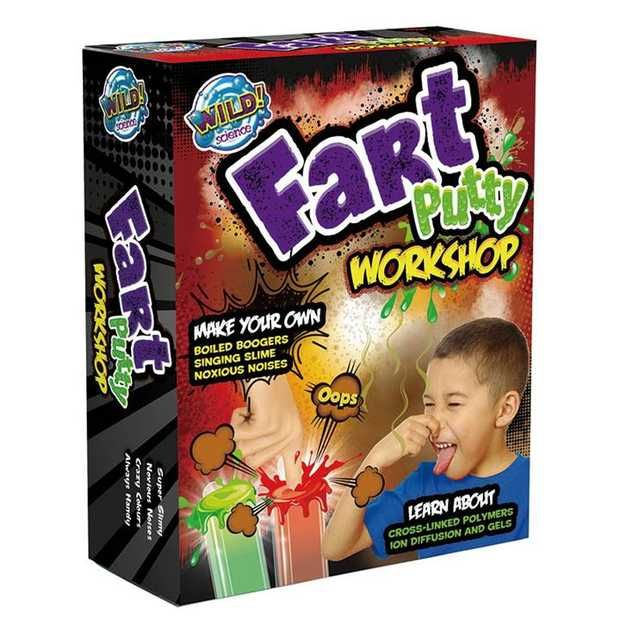 Experience noxious noises while making boiled boogers, burping blood clots and fantastic fart...