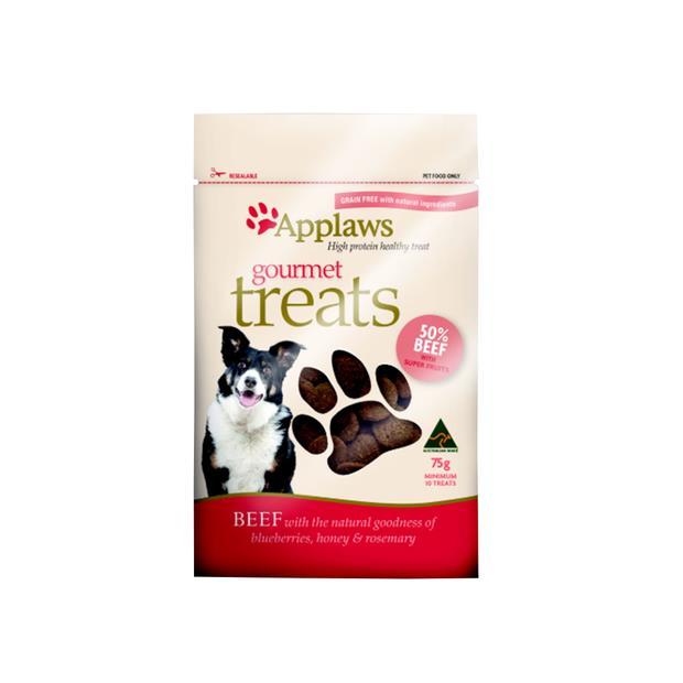 applaws dog treats gourmet beef blueberries and honey  75g | Applaws dog treat&&litter; | pet supplies|...