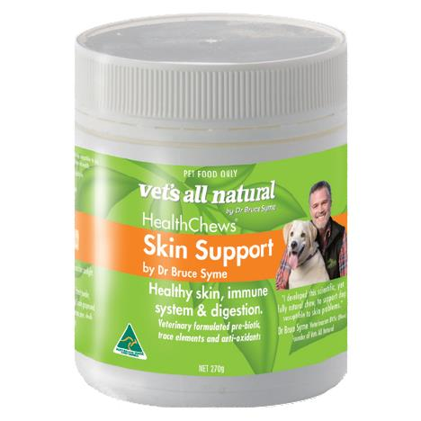 The Vets All Natural Health Chews Skin support 270h is a healthy, natural supplement for your beloved...
