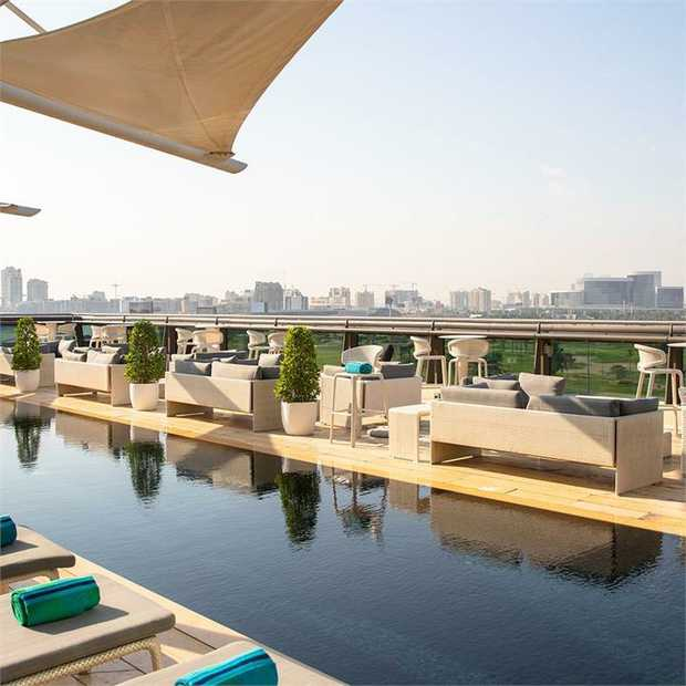 Stay in the heart of the of old Dubai in legendary Jumeirah luxury at Jumeirah Creekside Hotel, just a...