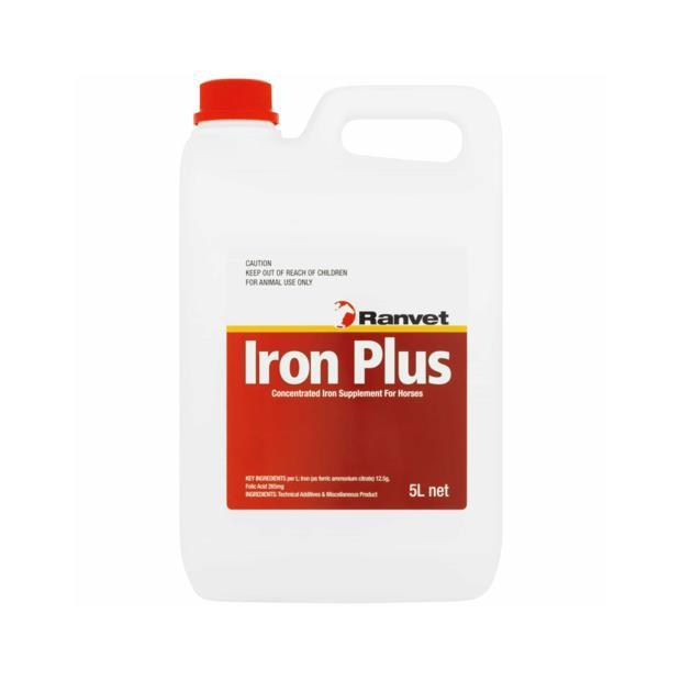 ranvet iron plus with folic acid  5L | Ranvet | pet supplies| Product Information:...