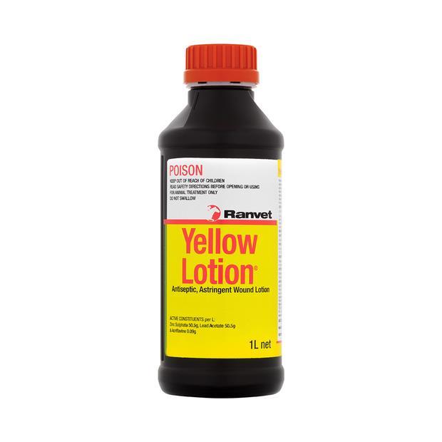 ranvet yellow lotion antiseptic  1L | Ranvet | pet supplies| Product Information:...