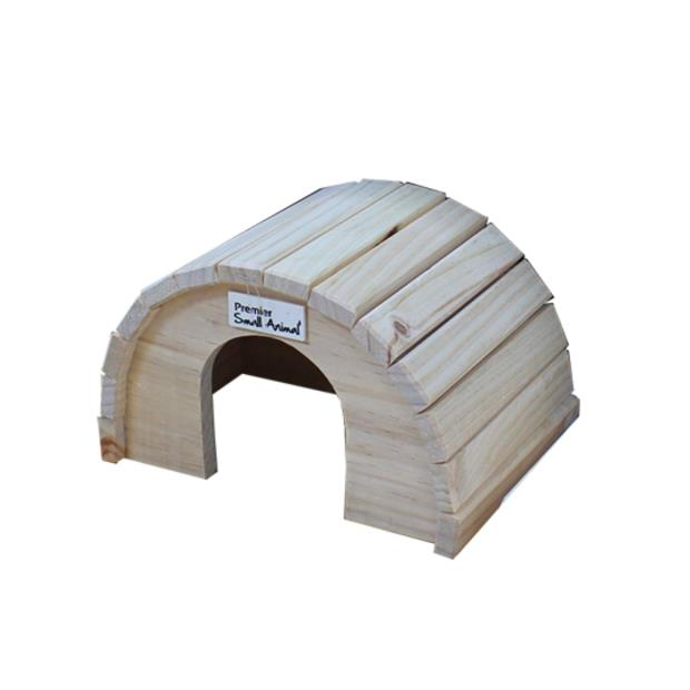 premier small animal round timber home  small | Premier Small Animal | pet supplies| Product...