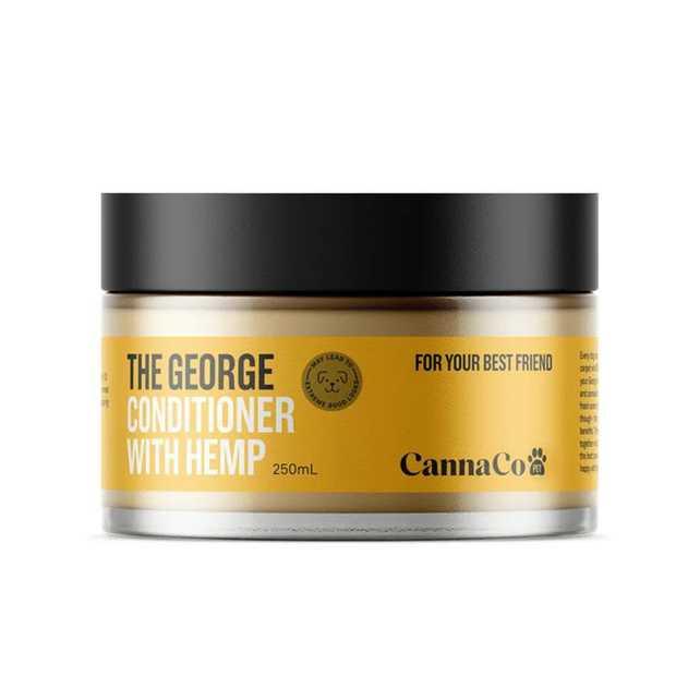 The George Dog Conditioner with 100% Australian Organic Hemp Seed Oil 250ml