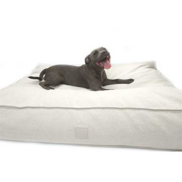 The T & S Interior Floor Cushion Luxy Linen Dog Bed gives your floor an instant upgrade as a...