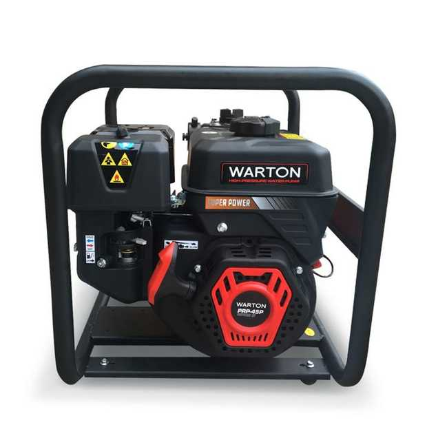 The NEW Warton® Petrol-Driven Fire Fighting High Pressure Water Pump is here! This water pump will...