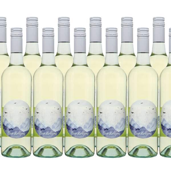 Capture the taste of the crisp South East Australian region with 12 bottles of New Horizon Semillon...