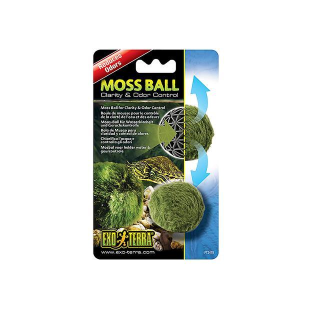 exo terra moss ball  each | Exo Terra | pet supplies| Product Information: exo-terra-moss-ball