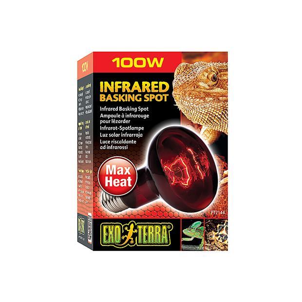 exo terra heat glo infrared heat lamp  100w | Exo Terra | pet supplies| Product Information:...