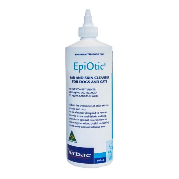 virbac epiotic  500ml | Virbac cat dog | pet supplies| Product Information: virbac-epi-otic