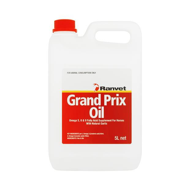 ranvet grand prix oil  5L | Ranvet | pet supplies| Product Information: ranvet-grand-prix-oil
