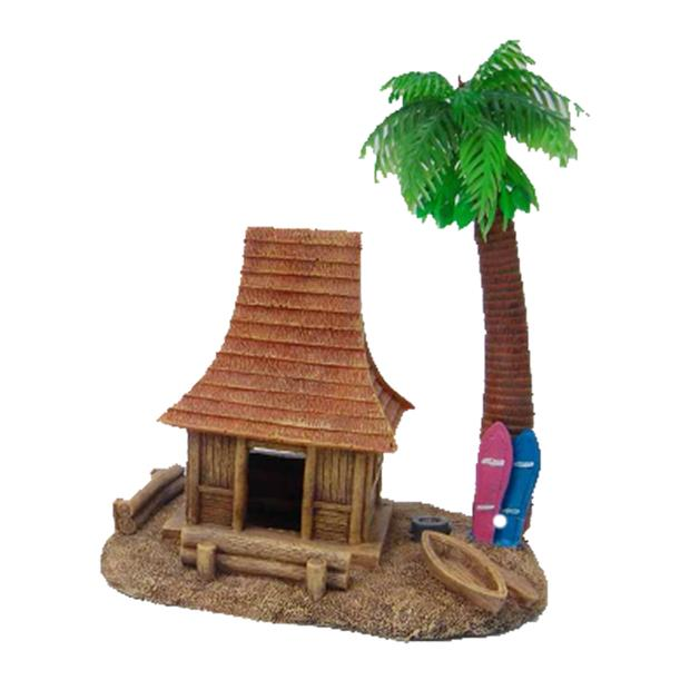 aquatopia hermit crab house with palm tree  each | Aquatopia | pet supplies| Product Information:...