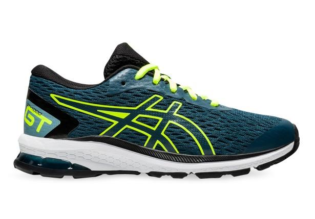 Reliable support for young feet, the ASICS GT-1000 9 Grade School stability shoe has returned with a...