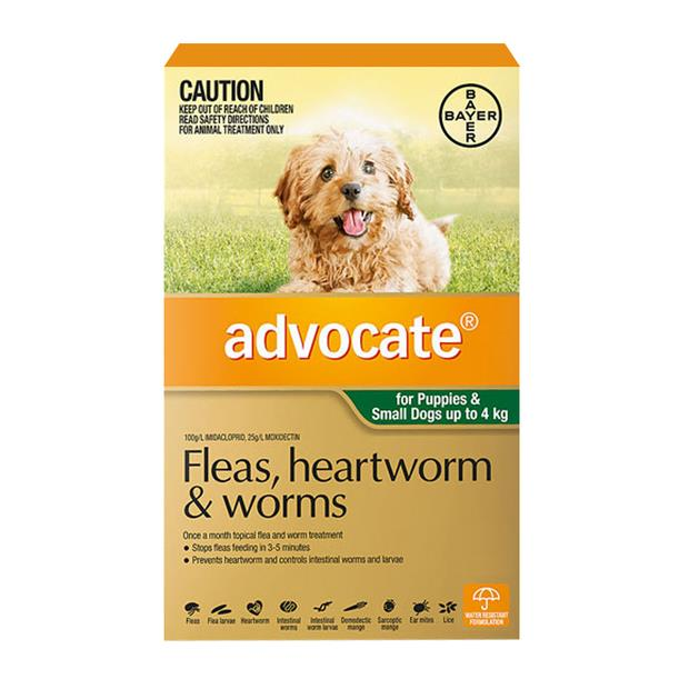 advocate dog small green  3 pack | Advocate dog Flea&Tick; Control | pet supplies| Product Information:...