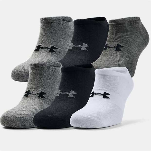 Lightweight flat knit construction conforms to foot for superior touch & feel Material wicks sweat and...