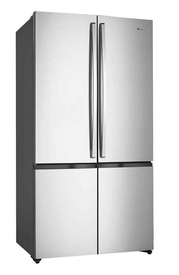 411L/189L Fridge/freezer capacity Hidden hinges Adjustable front rollers Rear rollers Egg tray Door...