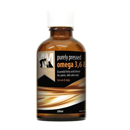 Meals For Mutts Omega Oil 200ml will assist in providing a healthy skin & coat for your dog.