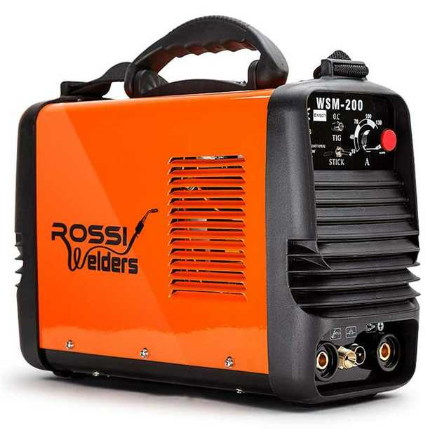 The new ROSSI WSM-200 dual function TIG/ARC has landed and is fast becoming the most demanded...