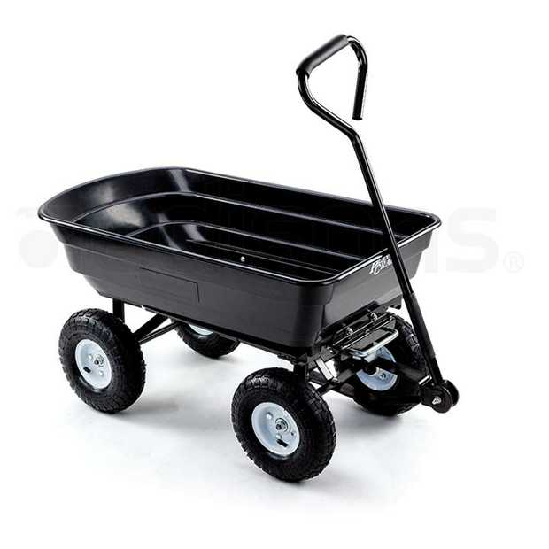 The New PlantCraft® Poly Pull Dump Cart is the perfect partner to accompany you in the garden.  This...