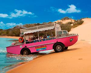 Eurimbula National Park Beach by Amphibious Vessel - Adult
