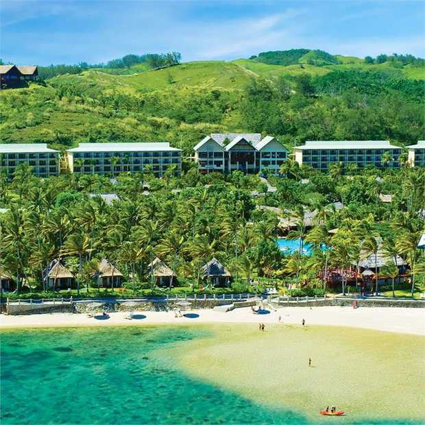 Set your watch to island time and escape to the award-winning Outrigger Fiji Beach Resort, a beachfront...