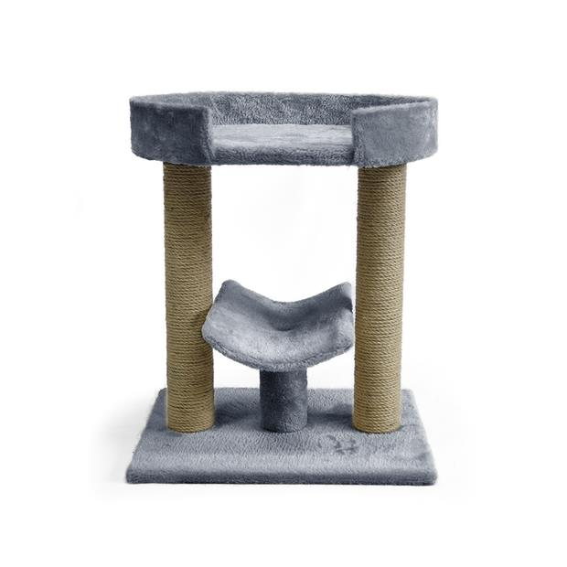 the catsentials platform cat tree grey  each | The Catsentials cat | pet supplies| Product Information:...
