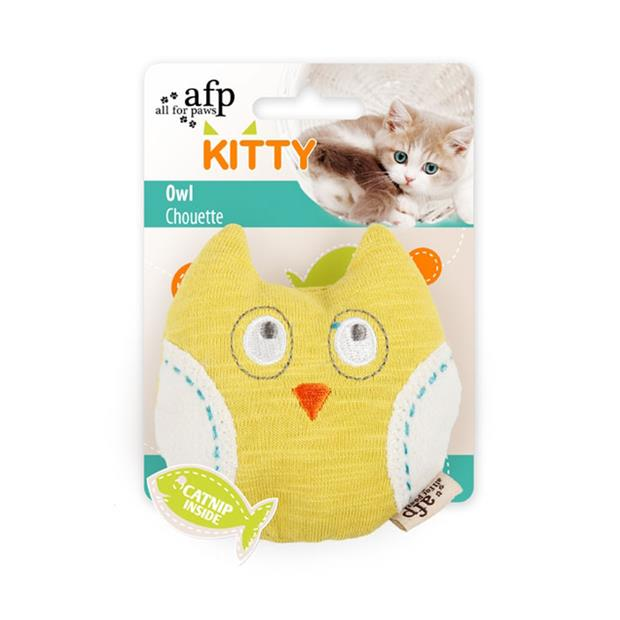 afp kitty owl cat toy  each | All For Paws cat toy&accessories; | pet supplies| Product Information:...