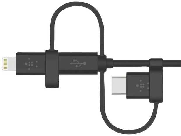 * Compatible with Lightning, USB-C and Micro-USB devices* MFi certification for peace of mind* 1.2M...