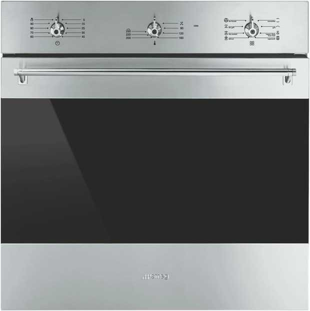 * 79 Litre oven capacity* 9 Cooking functions* 5 Cooking levels* Vapour Clean