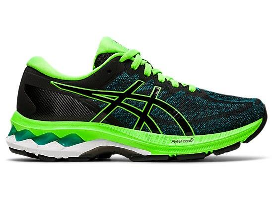Kids can enjoy excellent comfort and advanced support with the new GEL-KAYANO 27 GS running shoe.A new...