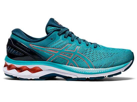 Enjoy excellent comfort and advanced support with the GEL-KAYANO 27 (D WIDE) running shoe. The...