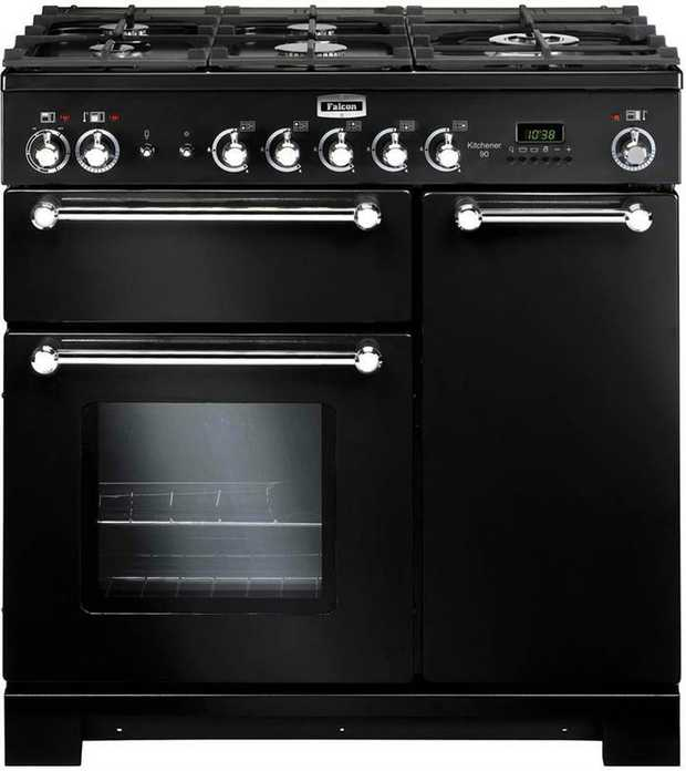 69L + 69L fan forced ovens 5 gas burners including wok burner Flame failure device Cook & clean oven...