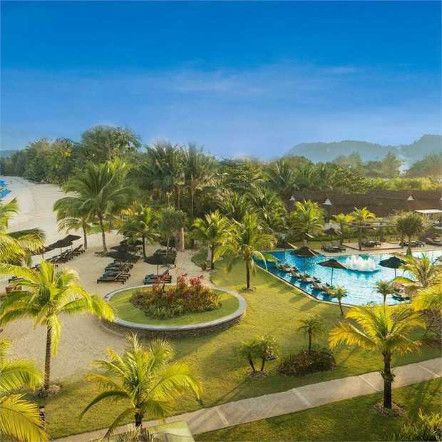 Head to the unspoiled shores of Khao Lak where cobalt waters, national parks and 13 kilometres of...