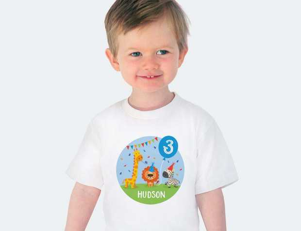 Personalised Baby Shirts | Birthday clothing for babies and toddlers Your baby will be ready to...