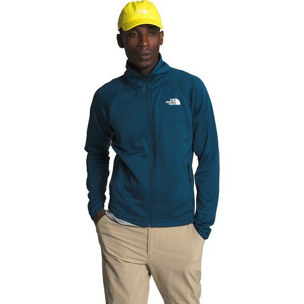 This full-zip fleece jacket will keep you warm in cool conditions, with a striped, brushed backer and...