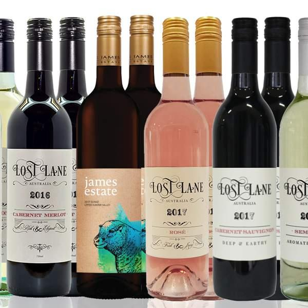 This is the ultimate winter wine dozen delivered to your door, featuring plenty of hearty reds from...