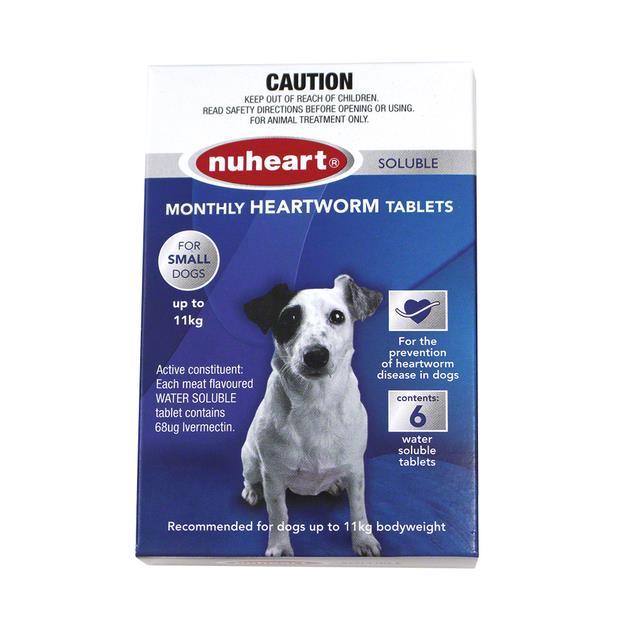 nuheart small dog blue  6 pack | Nuheart dog Flea&Tick; Control | pet supplies| Product Information:...