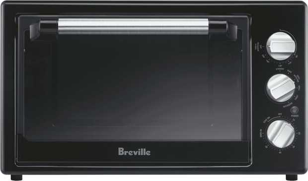 * 28 Litre Turbo Convection Oven* Multi-Function Operation with Rotisserie, Bake, Grill and Toast...