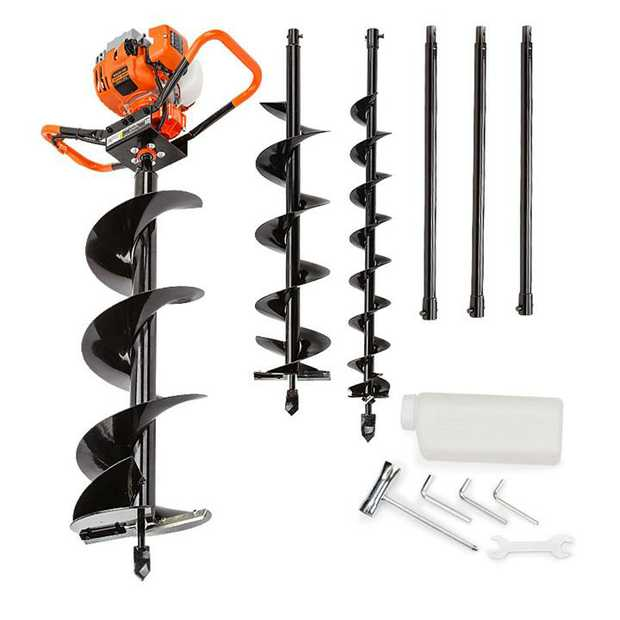 The Baumr-AG BPX-800 75cc Pro-Series Post Hole Digger has landed! A must have for any tradesmen...