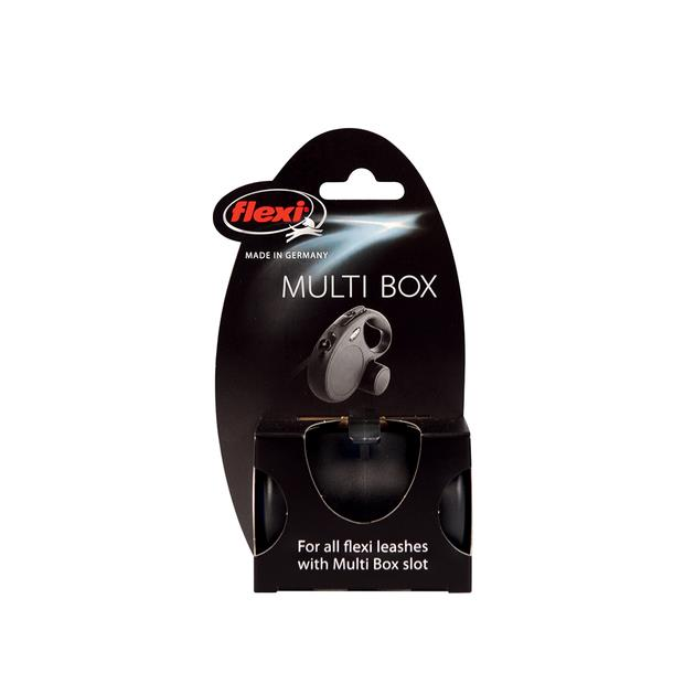 flexi multi box black  each | Flexi dog | pet supplies| Product Information: flexi-multi-box-black